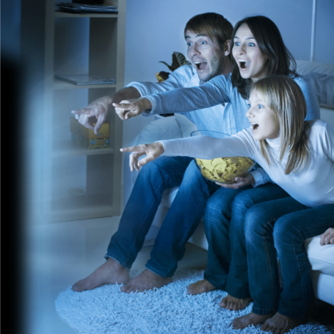 Gather the family together and view your next family entertainment source