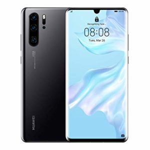 Image of Huawei P30 Pro front and back.