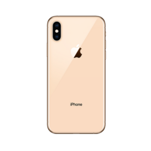 Image of the iPhone XS Max gold