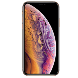 Image of the front of an iPhone Xs