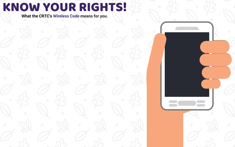 Image of hand holding cellphone for complaints