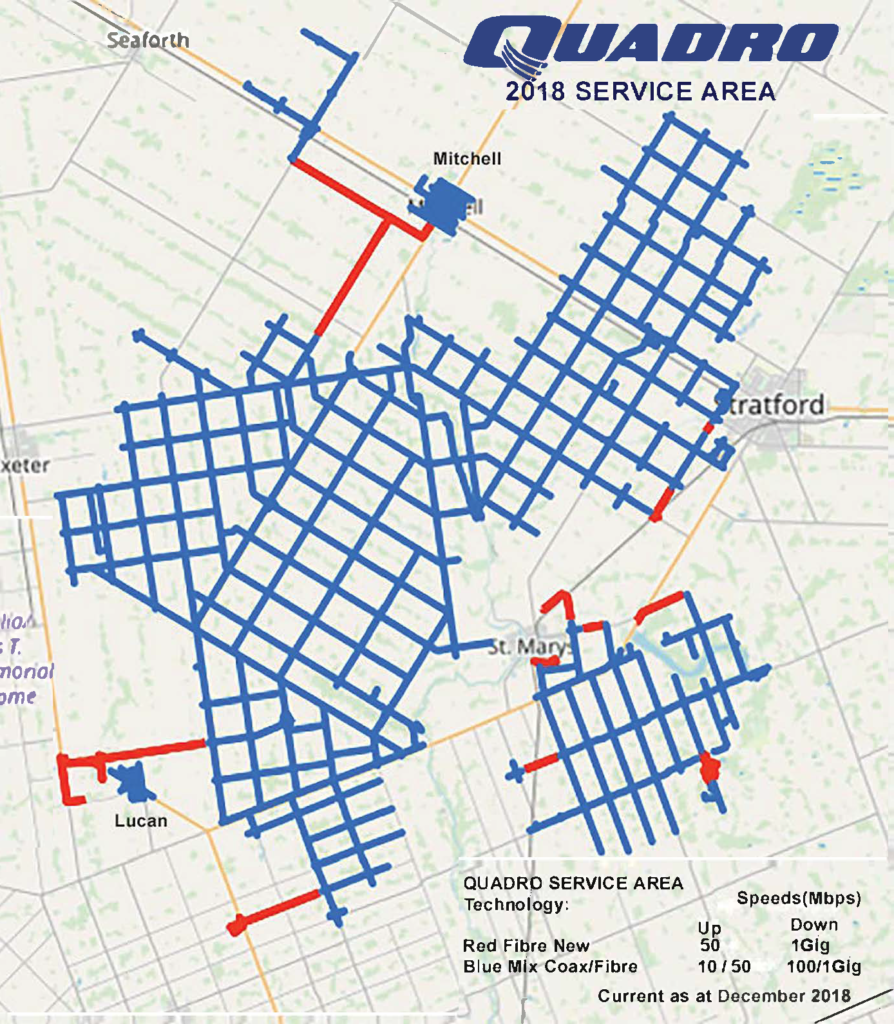 Quadro Service Area