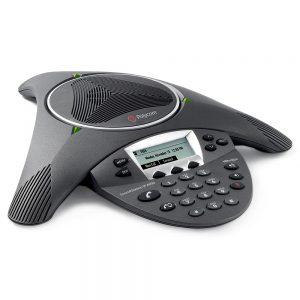 Image of Polycom SoundStation IP 6000 phone system conference station