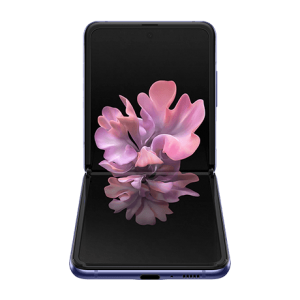 Image of the Galaxy Z Flip in its folded position