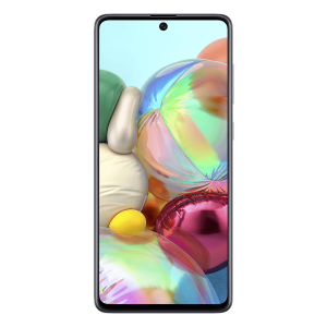 Image of the front of the Samsung Galaxy A71