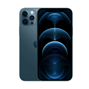 Image of the front and back of the iPhone 12 Pro Max