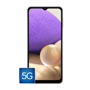 Front of the Samsung A32 5G phone
